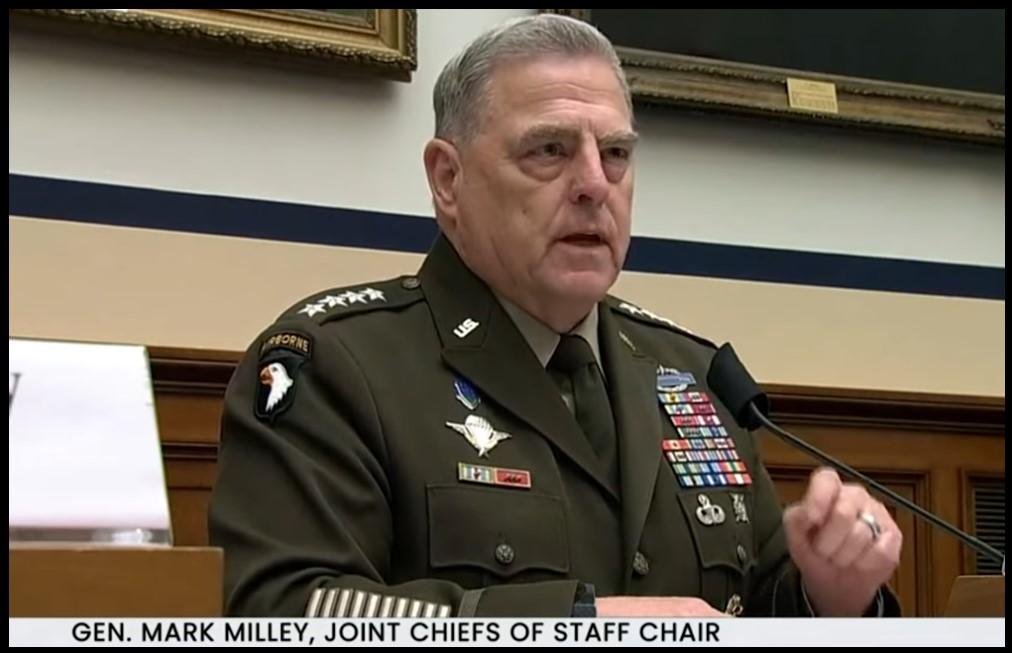 General Mark Milley woke commander