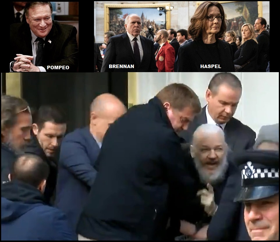 The Fourth Branch of U.S. Government Targeted Julian Assange For Kidnapping or Assassination in 2017, A Transparently Obvious Motive Being Overlooked - The Last Refuge